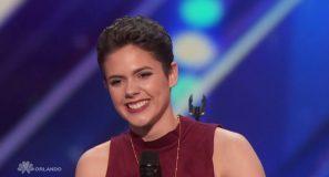 Calysta Bevier gets Simon Cowell's Golden Buzzer | Week 4 | America's Got Talent 2016 Full Auditions